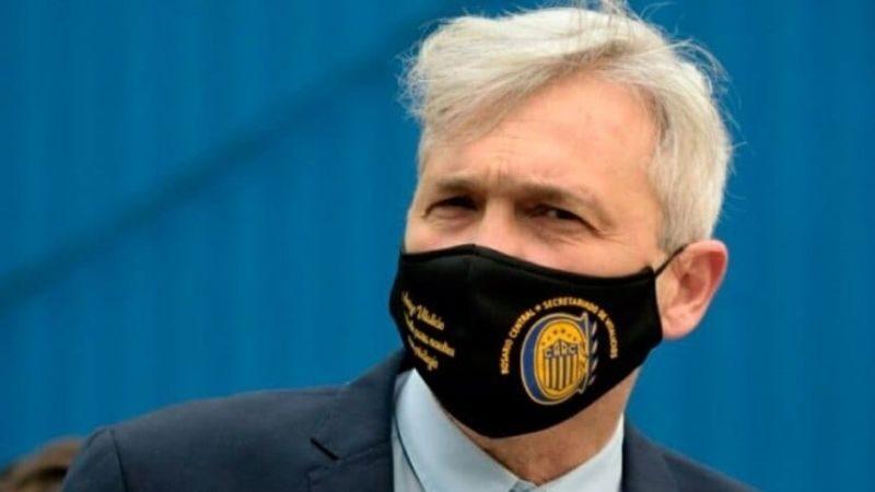 El vicepresidente de Rosario Central, Ricardo Carloni, superó el Coronavirus