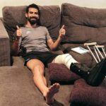 Josué Ayala fue operado con éxito e iniciará la larga recupación
