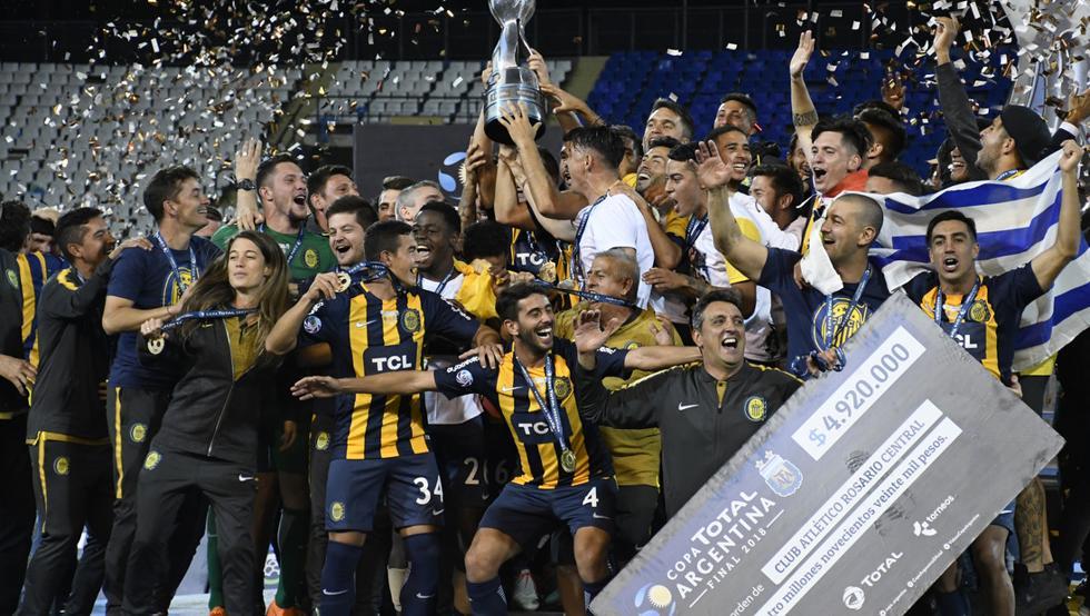 2º aniversario de la consagración de Rosario Central en la Copa Argentina 2018
