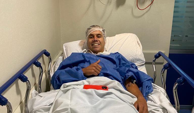 La operación de Pancho González fue exitosa