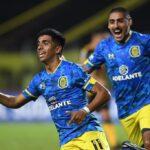 Central igualó 2 a 2 ante Deportivo Táchira. Los goles canallas fueron de Luciano Ferreyra y de Alan Marinelli