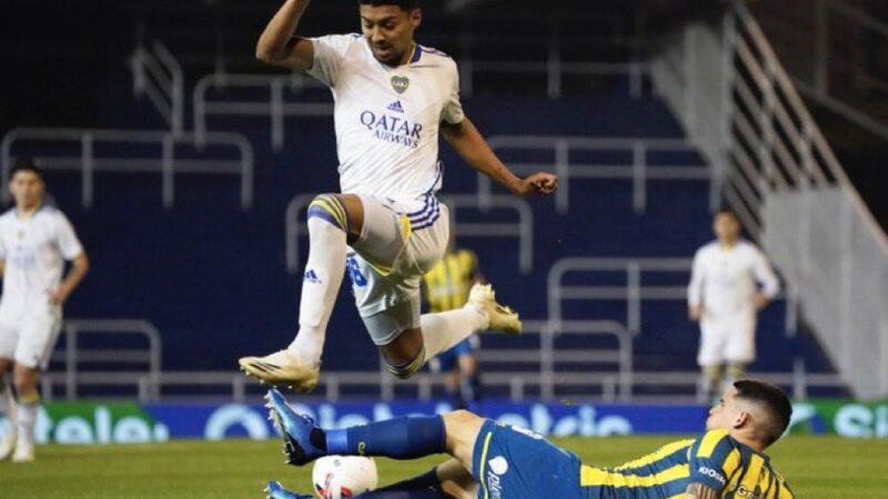 En un partido frenético, el Canalla se durmió y perdió ante Boca